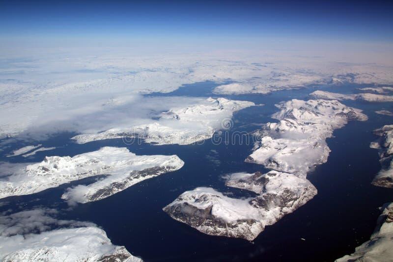 Het landschap van Groenland royalty-vrije stock foto's