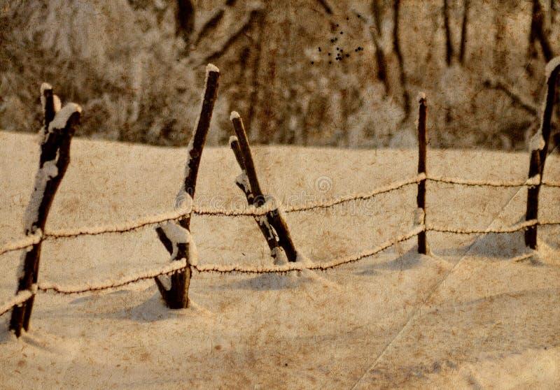 Het landschap van Grunge royalty-vrije stock fotografie