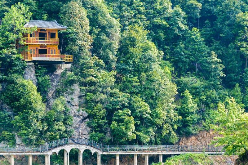 Het landschap van Guangxijin xiu stock fotografie