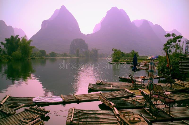 Het landschap van Guilin royalty-vrije stock afbeeldingen