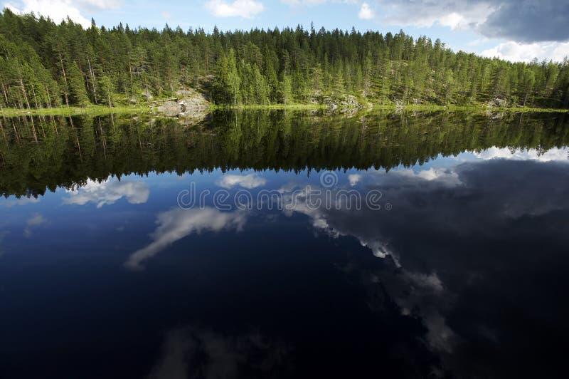 Het landschap van het meer royalty-vrije stock fotografie