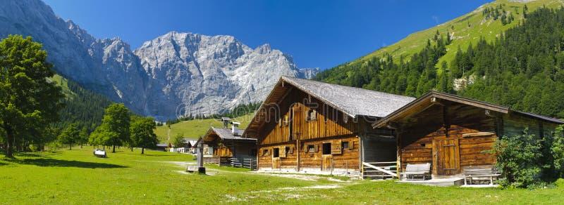Het landschap van het panorama in Beieren royalty-vrije stock afbeeldingen