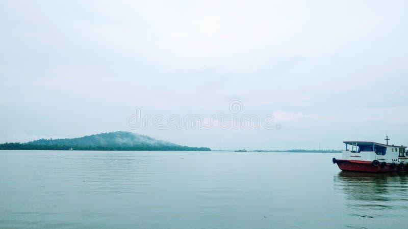 Het landschap van het schoonheidsmeer stock fotografie
