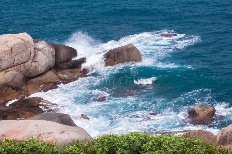 Het Landschap van het strand stock fotografie