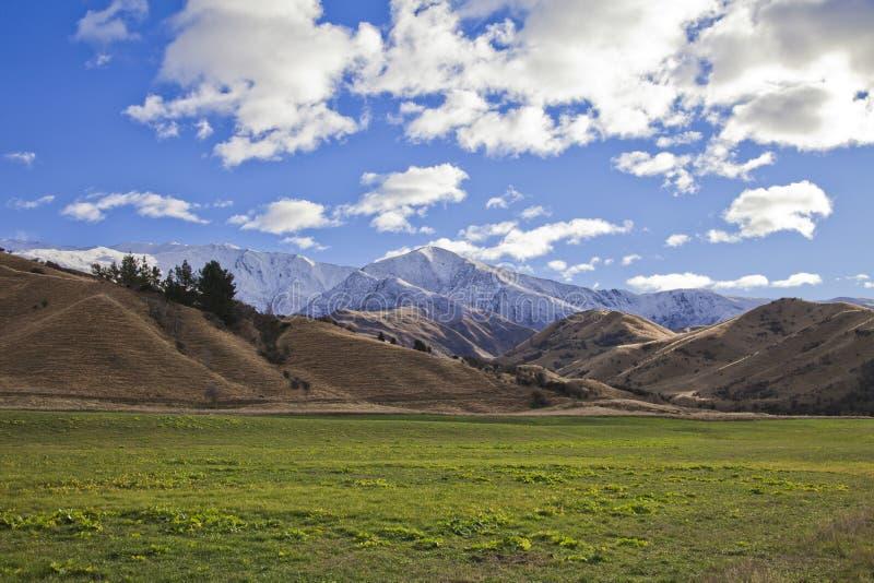 Het Landschap van het zuideneiland, Nieuw Zeeland royalty-vrije stock fotografie