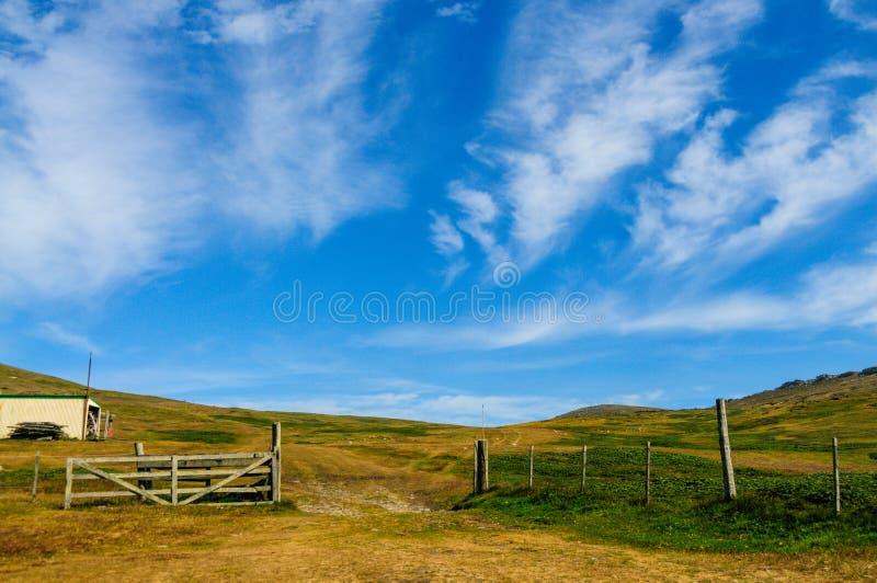 Het Landschap van het karkaseiland stock fotografie