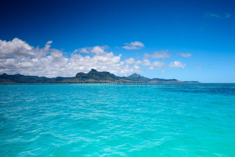 Het landschap van Mauritius stock afbeelding