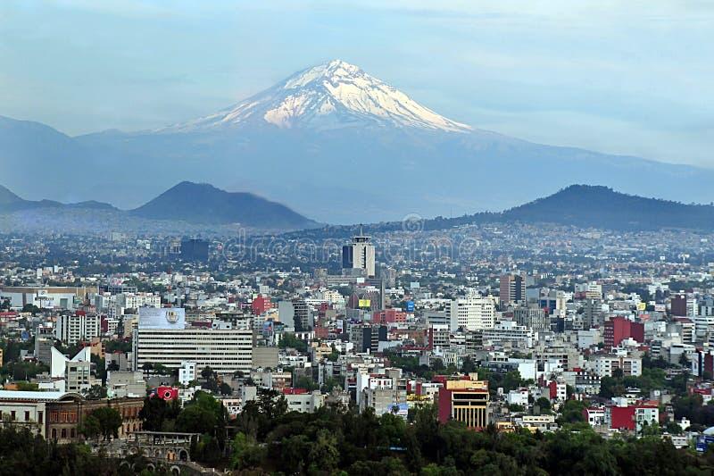 Het Landschap van Mexico-City stock foto