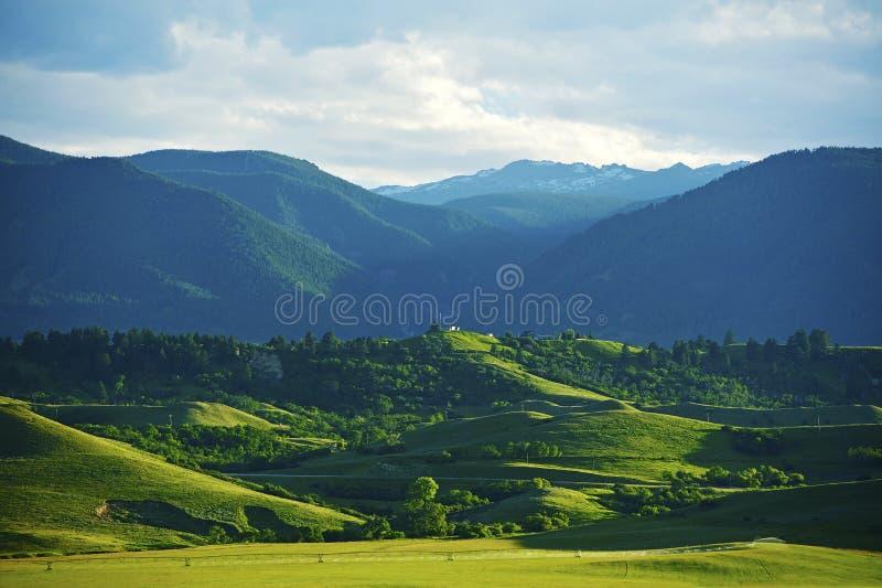 Het Landschap van Montana stock foto
