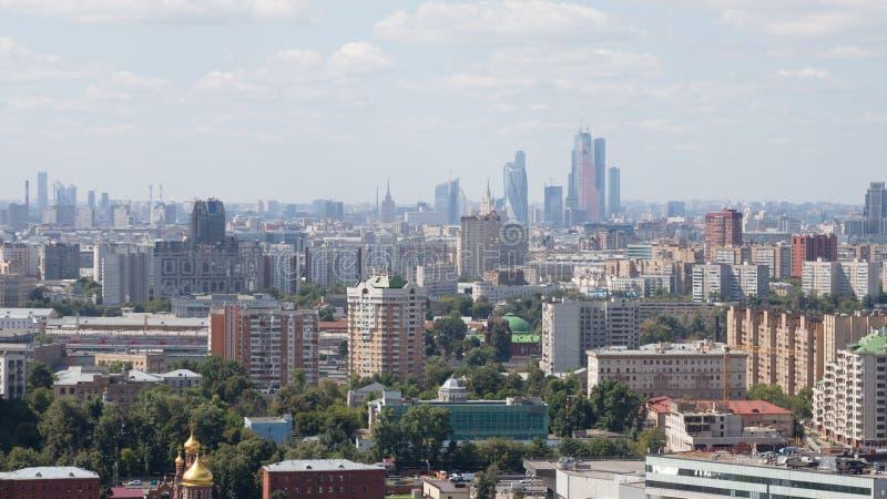 Het landschap van Moskou royalty-vrije stock foto's