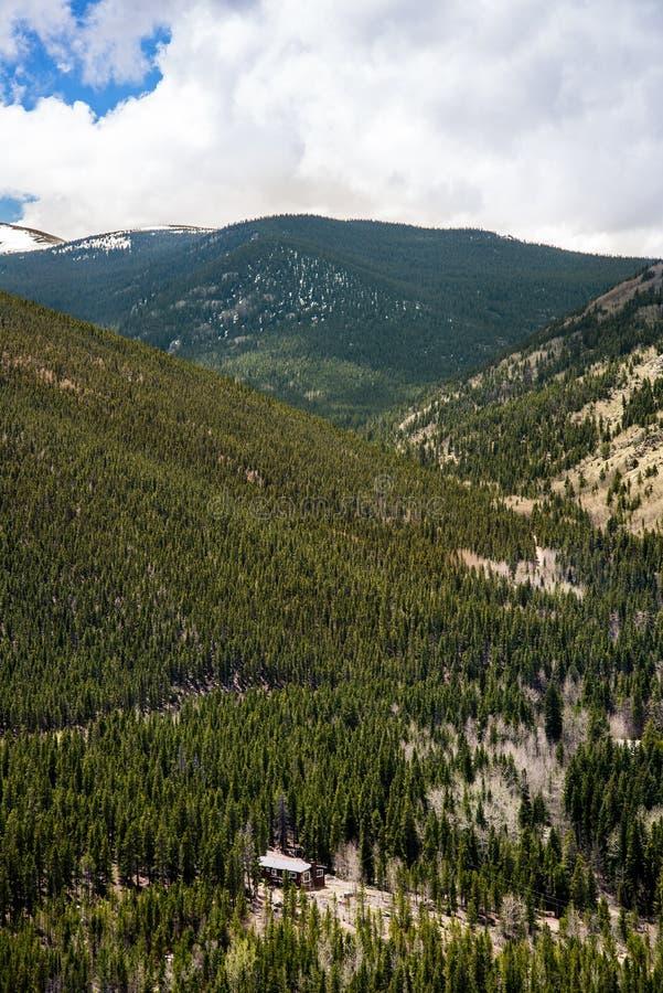 Het landschap van MT Evans Rocky Mountain Colorado royalty-vrije stock afbeelding