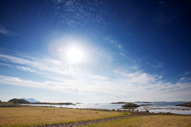 Het Landschap van Noorwegen royalty-vrije stock foto