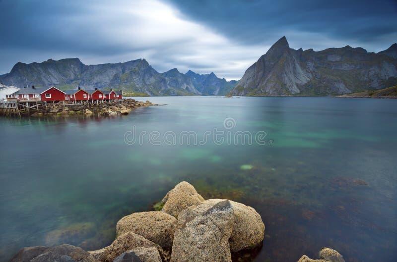 Het landschap van Norwgian stock afbeelding
