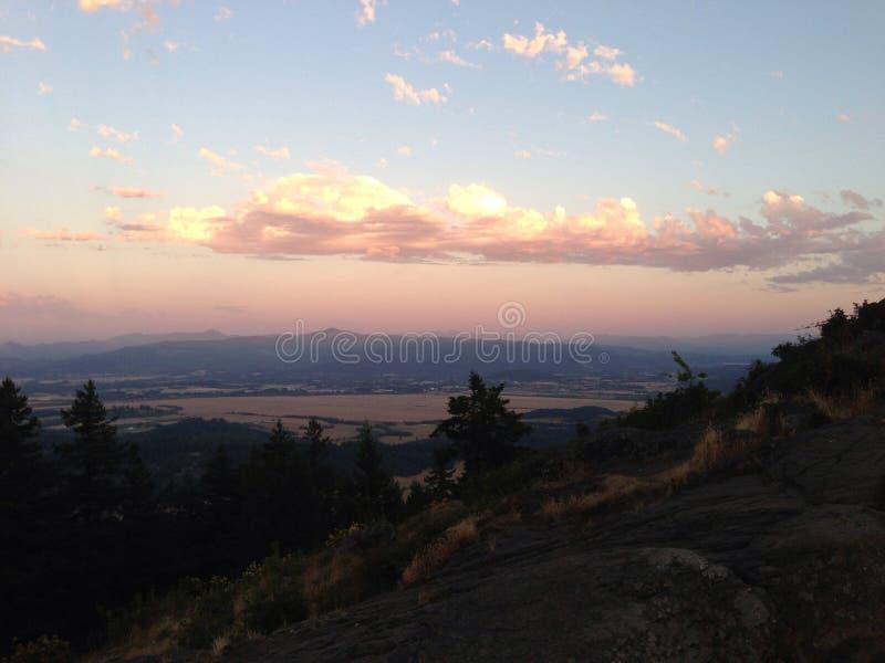 Het landschap van Oregon stock foto's