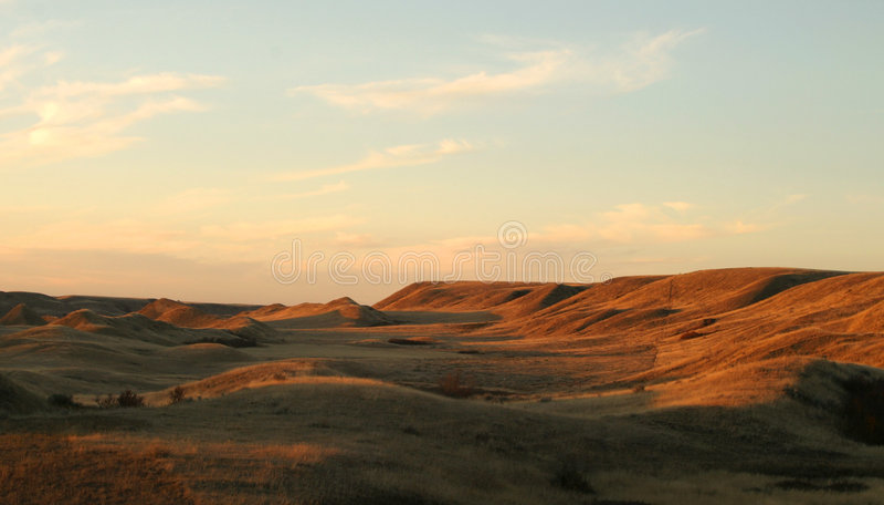 Het Landschap van Praire royalty-vrije stock afbeelding