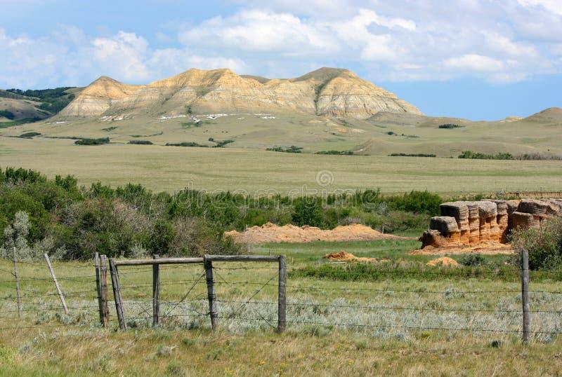 Het Landschap van Ravenscrag stock foto