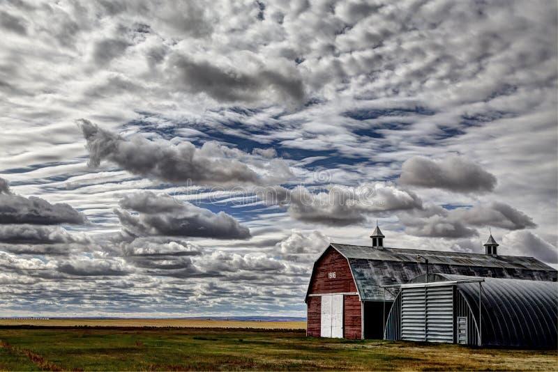 Het Landschap van Saskatchewan Canada stock afbeelding