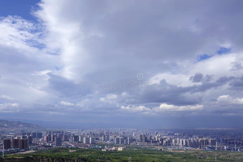 Het landschap van Tai-Yuan royalty-vrije stock afbeelding