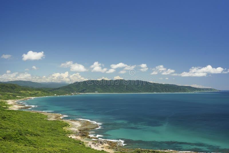 Het landschap van Taiwan royalty-vrije stock afbeelding