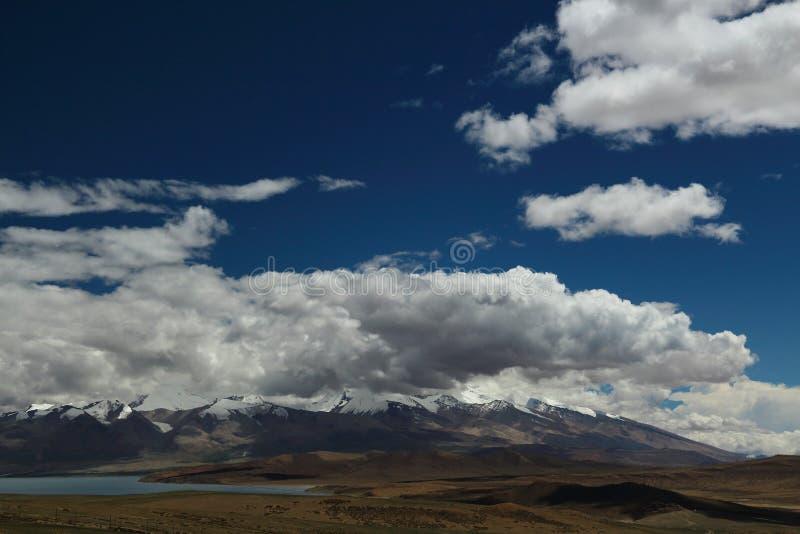 Het landschap van Tibet royalty-vrije stock afbeelding