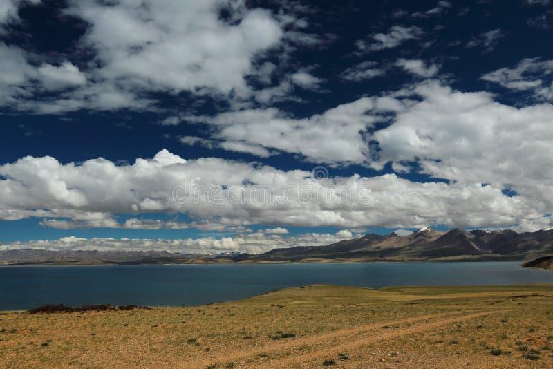 Het landschap van Tibet stock fotografie