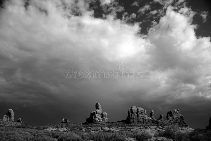Het landschap van Utah stock foto