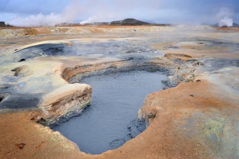 Het landschap van Vulcanic royalty-vrije stock foto