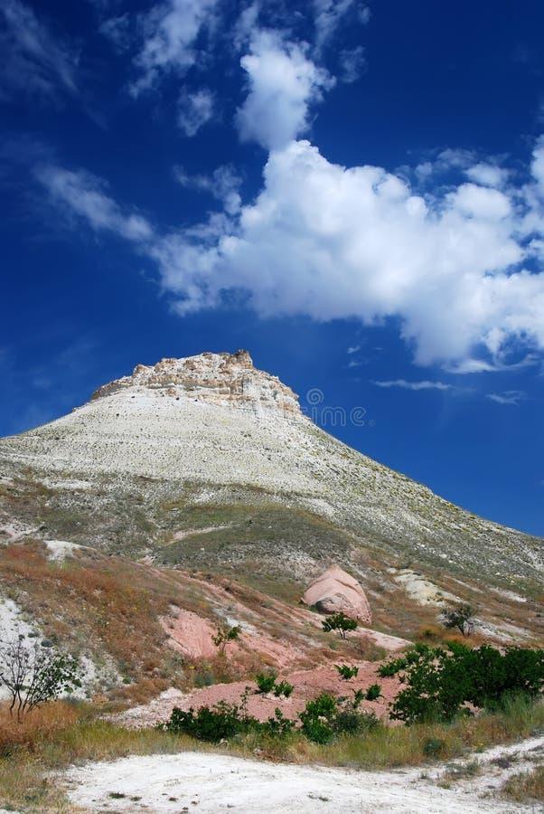 Het landschap van Vulcanic in Cappadocia royalty-vrije stock afbeeldingen