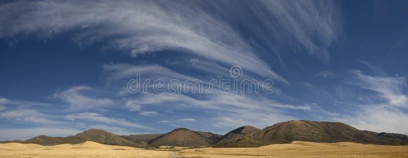 Het landschap van Wyoming stock afbeelding