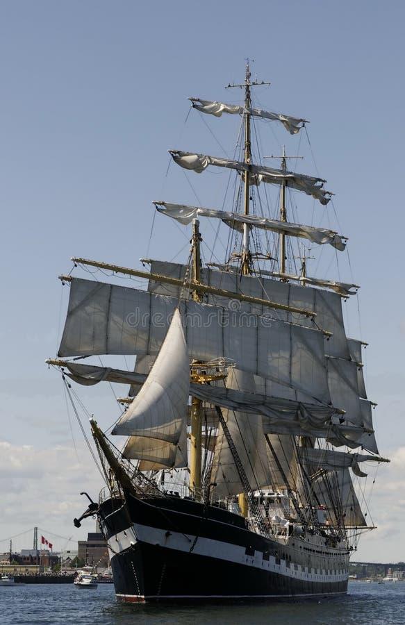 Het lange Ras Halifax 2009 van het Schip royalty-vrije stock afbeeldingen