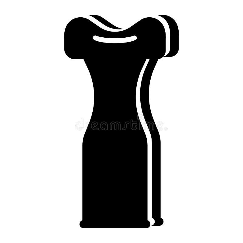 Het lange vectordieteken en het symbool van het kledingspictogram op witte achtergrond, het Lange concept van het kledingsembleem stock illustratie