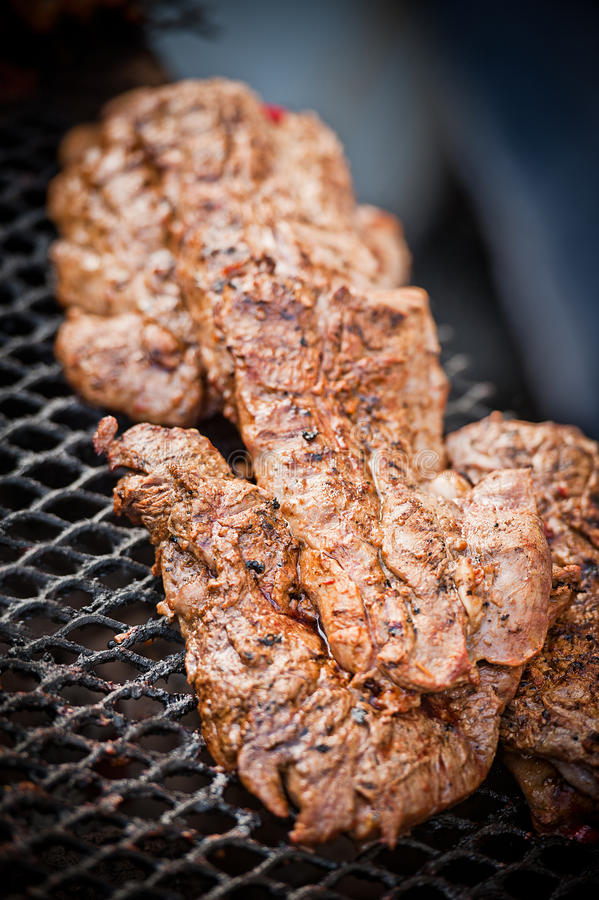 Het lapje vlees van de barbecue royalty-vrije stock fotografie