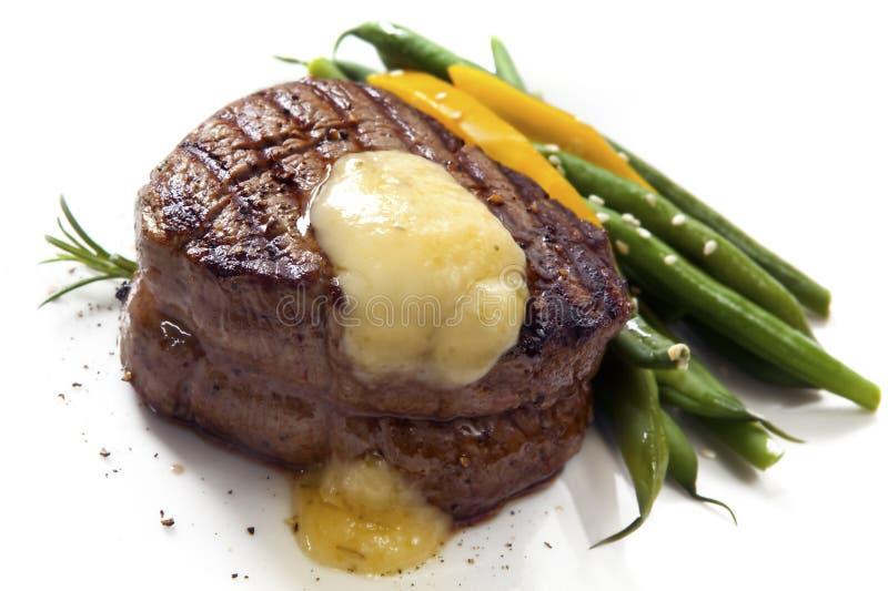 Het Lapje vlees van de filet stock foto's