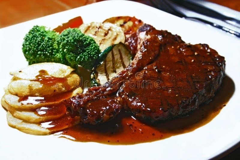 Het lapje vlees van de rib royalty-vrije stock afbeeldingen