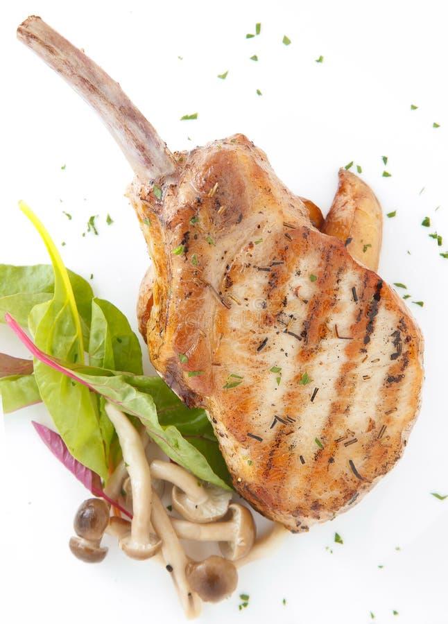 Het lapje vlees van de varkensvleesrib royalty-vrije stock foto