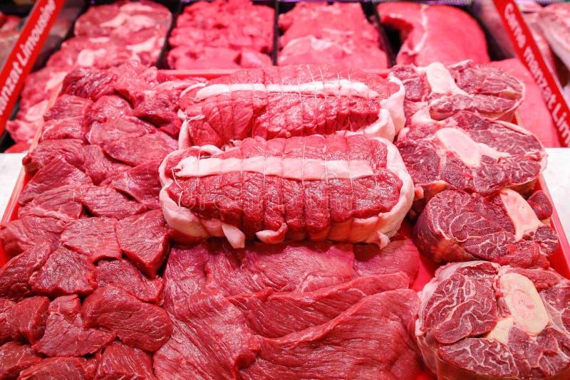 Het lapje vlees van het kalfsvleesvlees stock afbeeldingen
