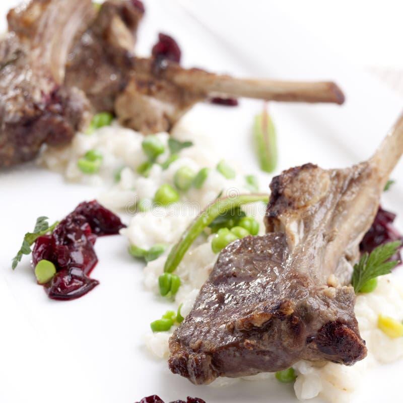 Het lapje vlees van het lam stock afbeeldingen