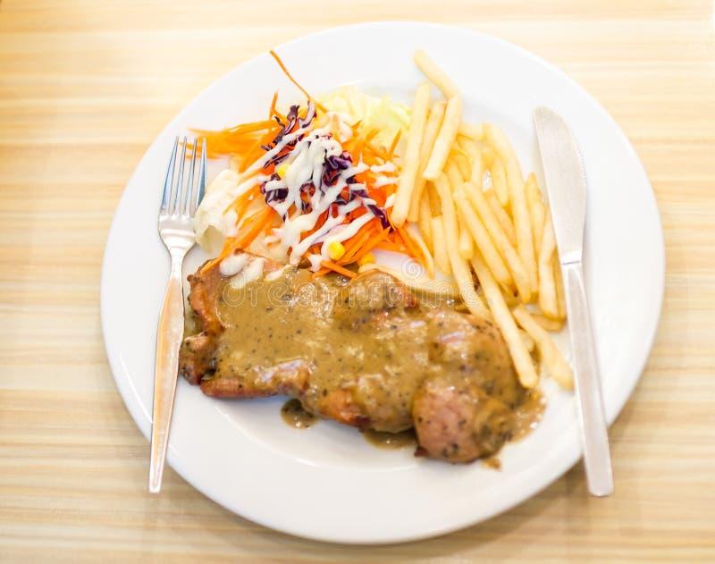Het Lapje vlees van het varkensvlees stock afbeeldingen