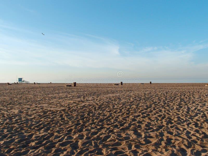 Het lege Dockweiler-Park van de Strandstaat royalty-vrije stock fotografie