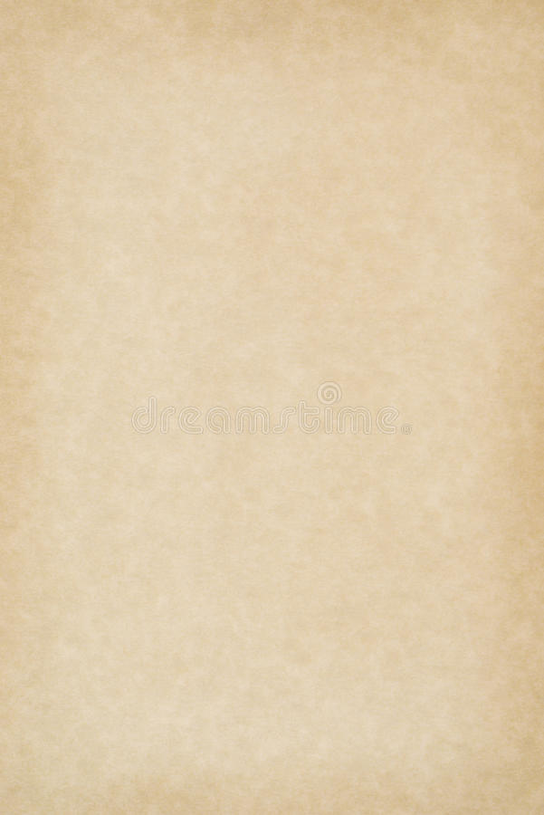Het lege Document van het Perkament stock afbeeldingen