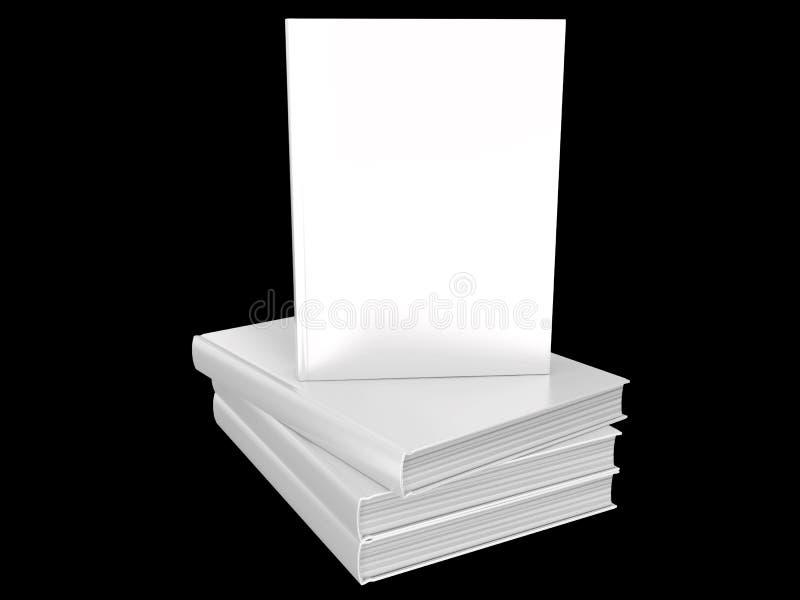 Het lege malplaatje van het boekmodel stock fotografie