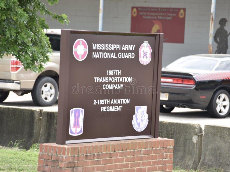 Het Leger Nationale Wacht van de Mississippi, Southaven, de Mississippi stock foto's