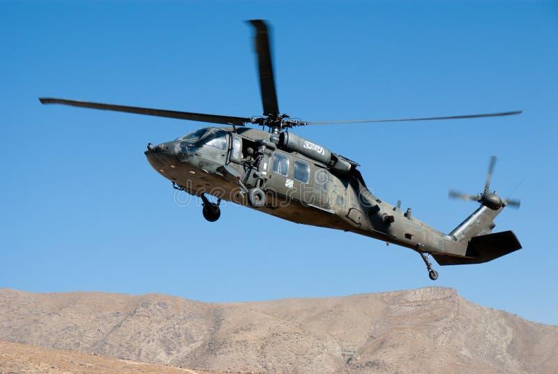 Het Leger van de V.S. UH 60 Blackhawk royalty-vrije stock afbeeldingen