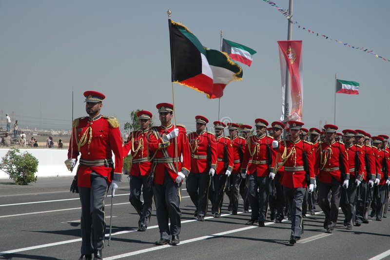 Het Leger van Koeweit toont royalty-vrije stock afbeelding