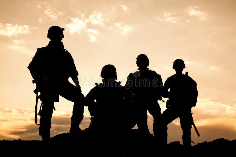 Het Legerbereden politie van Verenigde Staten royalty-vrije stock fotografie