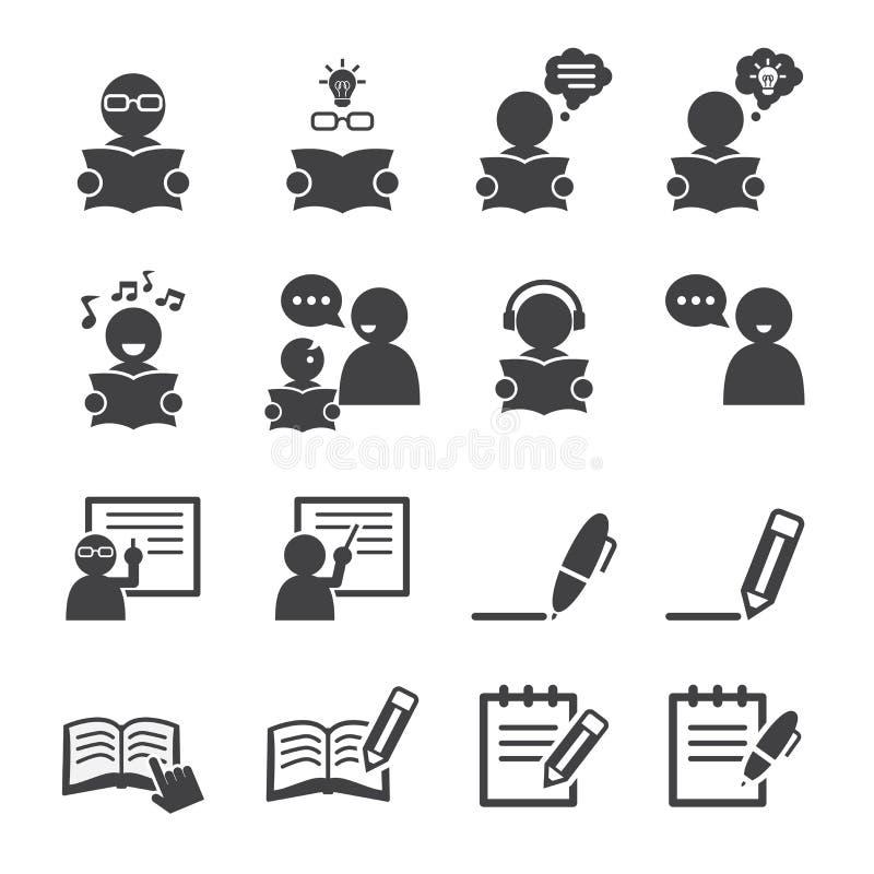 Het leren pictogram vector illustratie