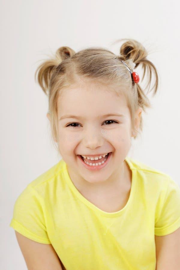 Het leuke Glimlachen van het Meisje stock foto