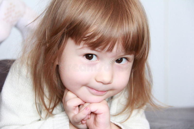 Het leuke kind royalty-vrije stock foto's