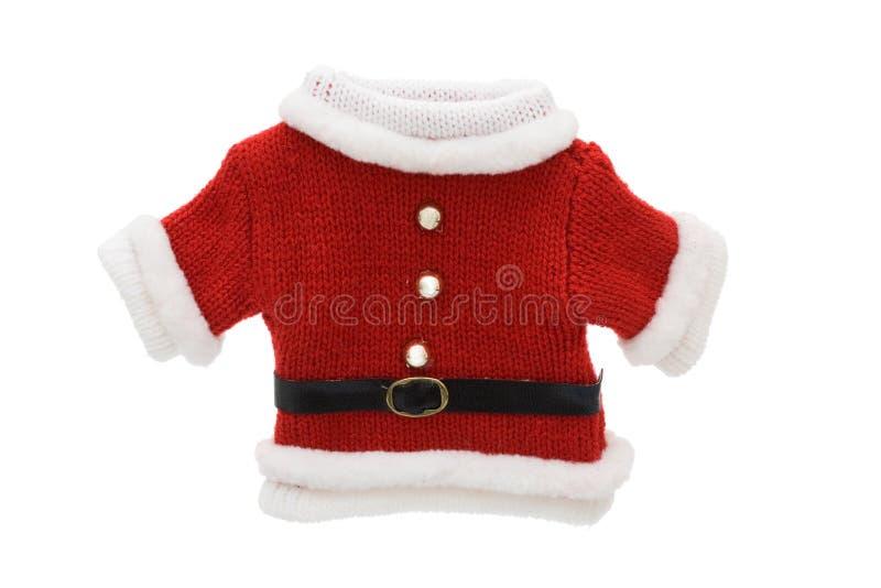 Het leuke Kostuum van de Kerstman royalty-vrije stock foto's