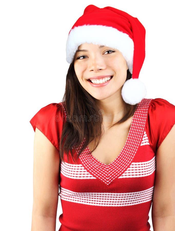 Het leuke Meisje van Kerstmis royalty-vrije stock foto